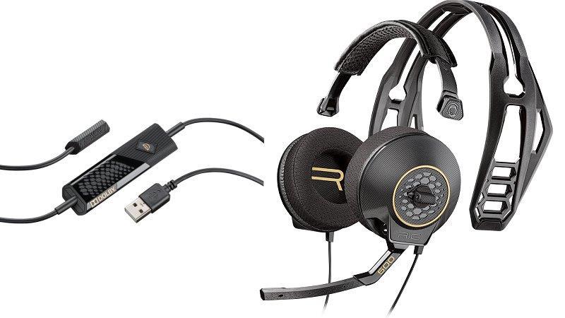 Tai nghe Game Plantronics RIG 500HD - 7.1 Surround Sound